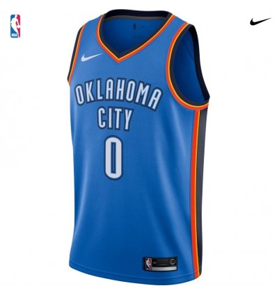 RUSSELL WESTBROOK ICON EDITION SWINGMAN JERSEY CITY THUNDER